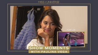 PAULINA VEGA REACTS TO HER SHOW MOMENTS!
