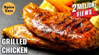 QUICK GRILLED CHICKEN | TASTY GRILLED CHICKEN RECIPE | GRILLED CHICKEN RECIPE