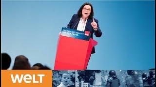 Wahl zur SPD-Vorsitzenden: Kann Andrea Nahles die Retterin der Sozialdemokratie sein?