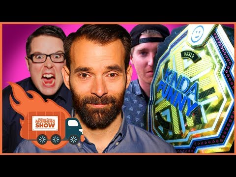 The Champ Puts the Belt on the Line! - The Kinda Funny Morning Show 10.13.17