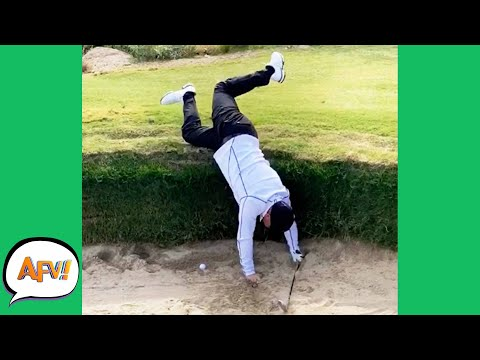 Talk About SAND TRAPPED! 😆| Funniest Fails | AFV 2020