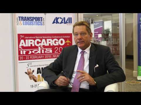 Ingo Zimmer, CEO, ATC Aviation Services, at Air Cargo Africa 2017