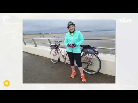 Matildas Musings - Sneeky Monday ride from Tay Bridge to home of golf St Andrews on NCR1