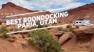 Best RV Boondocking Sṗot in Utah