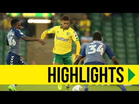 CARABAO CUP HIGHLIGHTS: Norwich City 4-1 Charlton Athletic