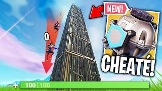 """CHEATEd"" TO THE CHUTE DAMAGE WITH THE PROTECTIVE BULLE! 🔥 THE BEST OF FORTNITE#204"