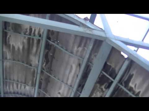 видео: Навес покрытый ОНДУЛИНОМ( предположительно) по прошествии 10 лет.