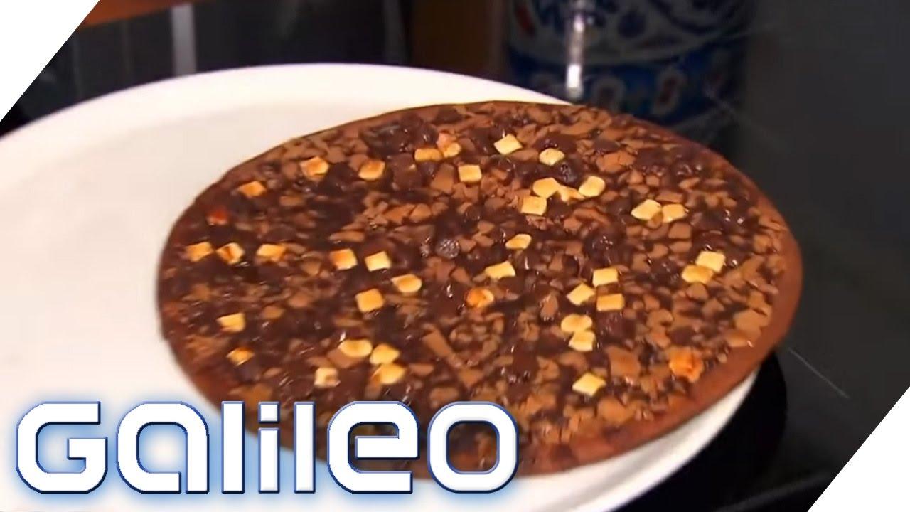Top Oder Flop Die Schokoladen Pizza Galileo Prosieben Youtube