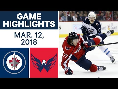 NHL Game Highlights | Jets vs. Capitals- Mar. 12, 2018