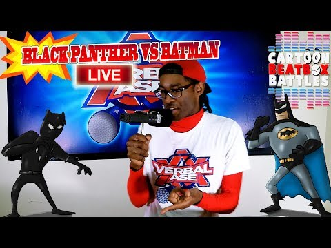 Black Panther Vs Batman Live - Cartoon Beatbox Battles