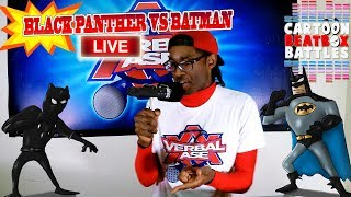 Black Panther Vs Batman Live - Cartoon-Beatbox-Battles