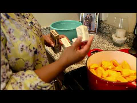 First Lady's Kitchen Candied Yams