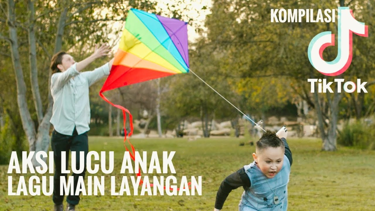 TikTok Anak Indonesia 🇮🇩 Lagu Main Layangan