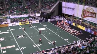 Chris Bocage - WR/KR/DB  #20 - Utah Blaze 2012 Arena Football League Highlights