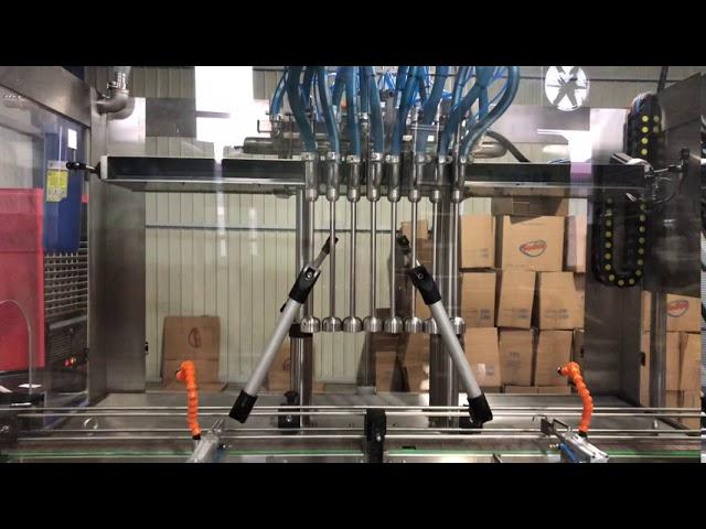 Sıvı Dolum Makinası Nozul Sistemi - Har Makina A.Ş.