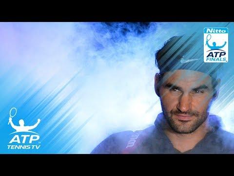 Roger Federer v Kei Nishikori: Best ATP Finals Shots & Rallies