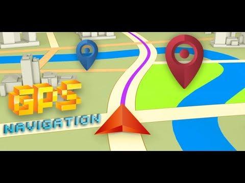 GPS Navigation Route Finder