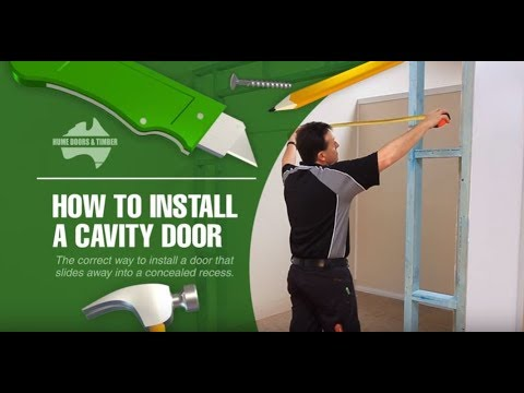 How To Install Cavity Unit