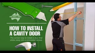 How To Install A Cavity Unit
