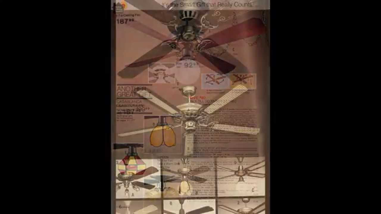 Ceiling Fans of the JCPenney catalog, 1980-1997 - YouTube