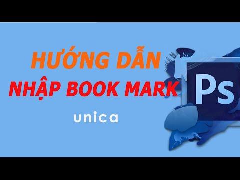 Học Photoshop - Hướng Dẫn Nhập Book Mark Trong Học Photoshop Kiến Trúc, Nội Thất, Quy Hoạch