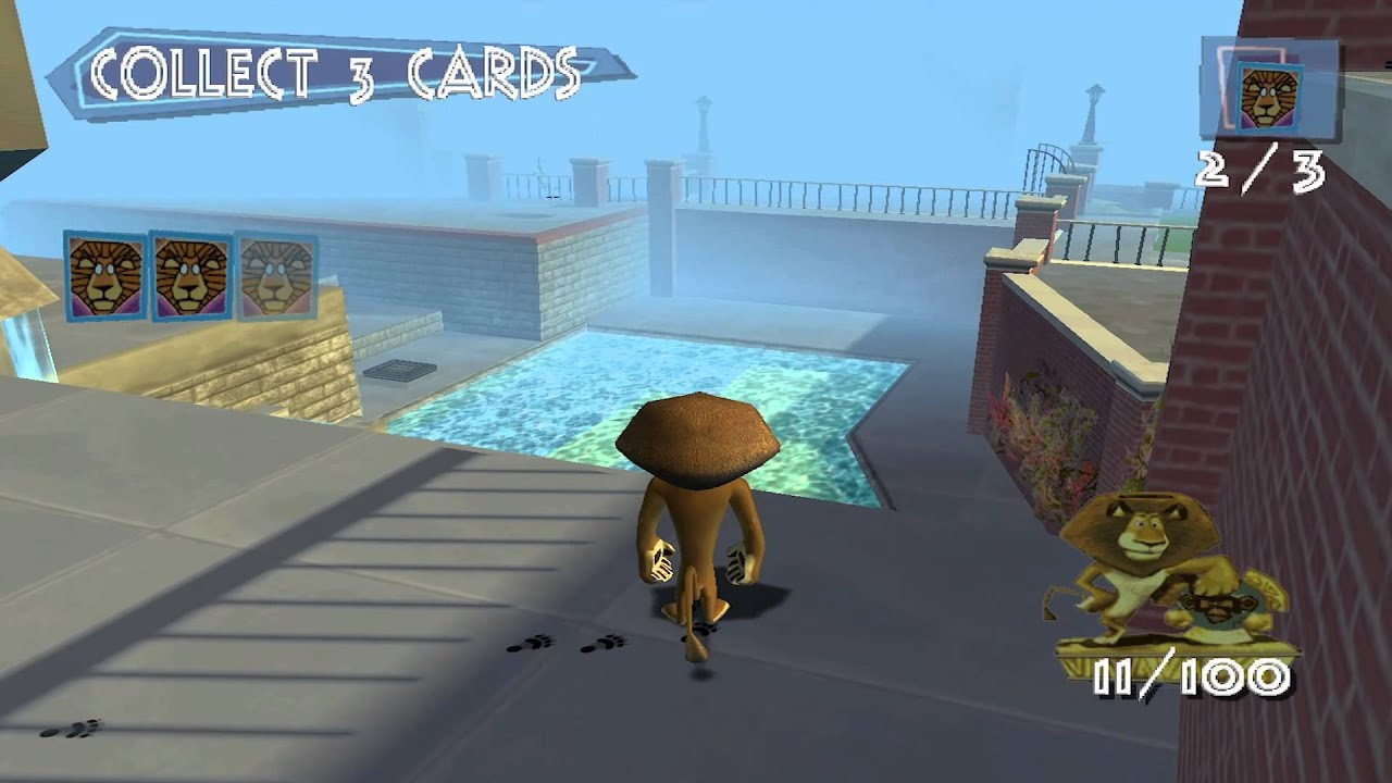 Madagascar The Game Walkthrough Part 1 Adventure Begins XBOX