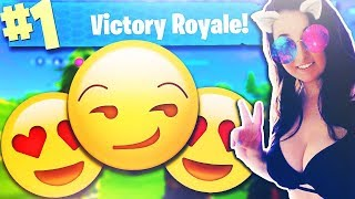 if i WIN this FORTNITE match SHE WILL give me 😏... (Fortnite Battle Royale)