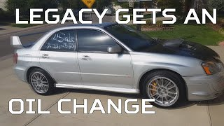 (legacy) gets an oil change