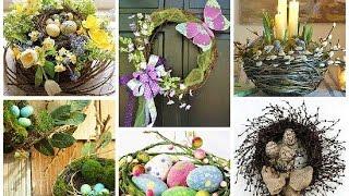 DIY 9. Пасхальный декор. Пасхальные венки. Easter.