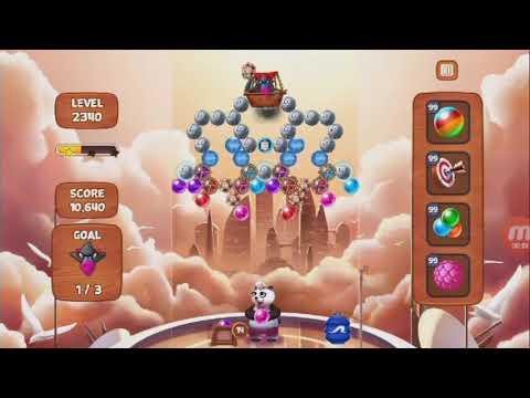 Panda Pop- Level 2340 (Levels have gotten better, but I still hate the world design)