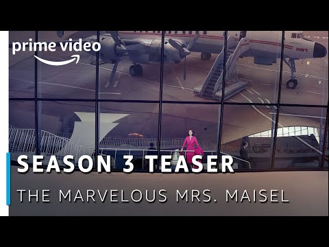 Official Teaser: The Marvelous Mrs. Maisel - Season 3   Amazon Original 2019