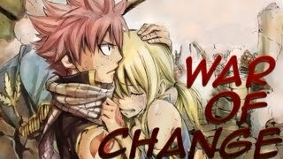 Fairy Tail AMV - War Of Change (HD)