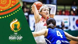 Japan v Korea - Full Game - Group B - FIBA Women's Asia Cup 2017