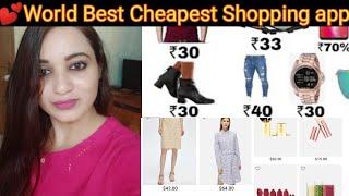 💕World Cheapest Online shopping App #SocialEras💕Online Shopping review with kinjal 💕 screenshot 2