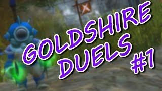 GOLDSHIRE DUELS EP1! FERAL DRUID 1v1 PvP WORLD OF WARCRAFT LEGION