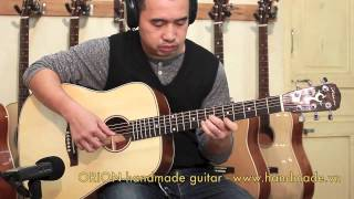 Demo HD 103 - ORION handmade guitar