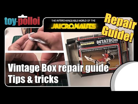 Fix it guide - Vintage Toy box repair tips