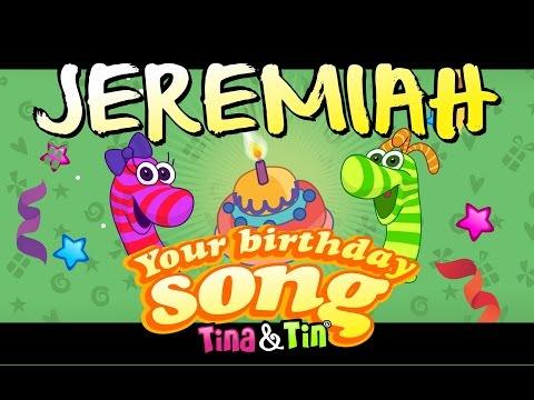 Tina&Tin Happy Birthday JEREMIAH