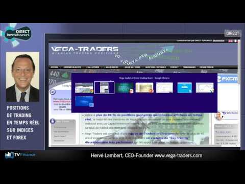 TV Finance : le multiplex des traders avec Hervé Lambert, Vega-Traders