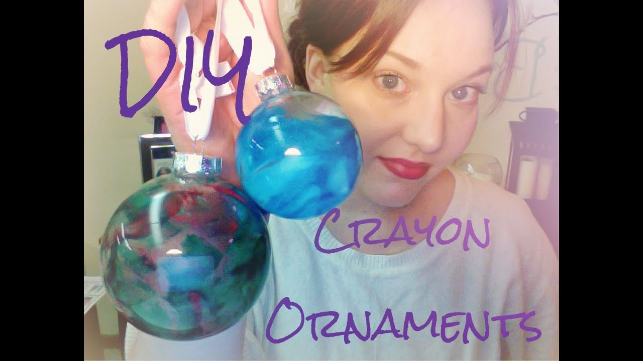 Making christmas ornaments with crayons - Diy Crayon Ornaments Pinned There Done That