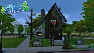 The Sims 4 Abandoned Murder Scene Speed Build! // Happy Halloween! 🎃🔪☠