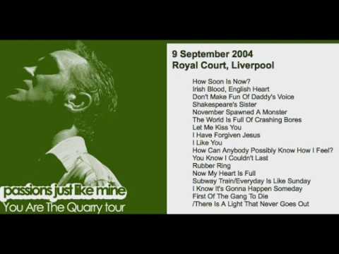 MORRISSEY - September 9, 2004 - Liverpool, England, UK (Full Concert) LIVE