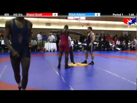 NYAC 84 KG / 1855 lbs: Shaun Scott vs. Elijah Adams