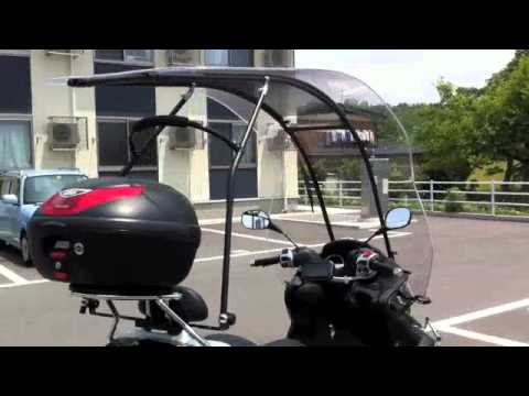 piaggio mp3 250lt roof concept - youtube