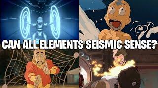 Element အားလုံးသည်ငလျင်အာရုံကိုအသုံးပြုနိုင်ပါသလား။ (Avatar အဖြေများ)