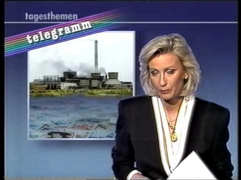 ARD Tagesthemen Telegramm Sabine Christiansen 2.6.1992