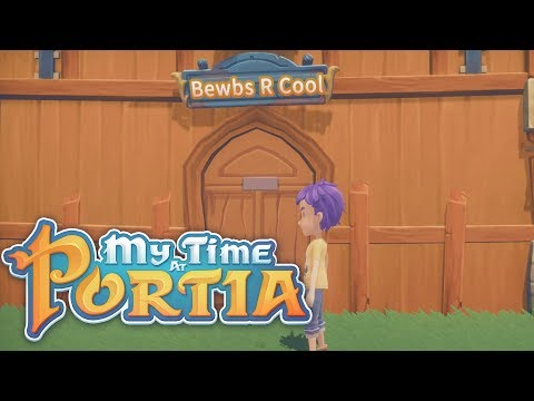 BEWBS R COOL INC! My Time At Portia #1