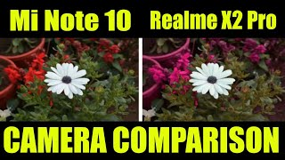 Xiaomi Mi Note 10 Vs Realme X2 Pro   Camera Comparison
