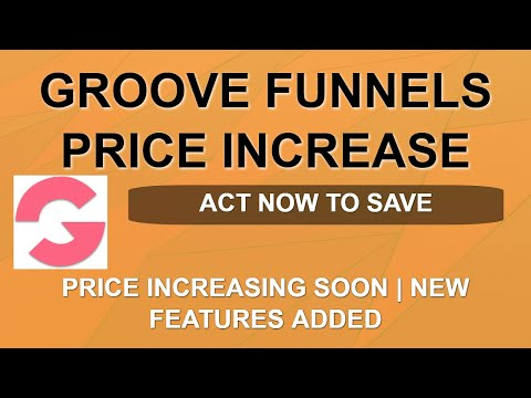 Groove Funnels Price Increase ⬆️⬆️ | Final Warning | ClickFunnels Killer | Split Pay Available thumbnail