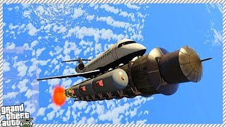Gta 5 - flying to space!